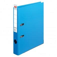 Biblioraft a4 5cm pp interior-exterior albastru deschis