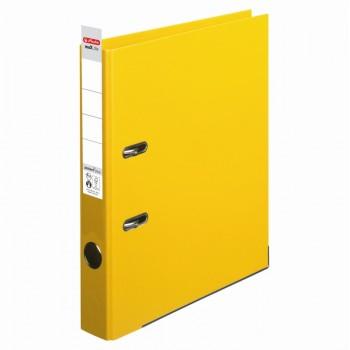 Biblioraft a4 5cm pp interior-exterior galben