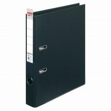Biblioraft a4 5cm pp interior-exterior negru