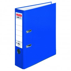 Biblioraft a4 8cm pp albastru herlitz