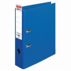 Biblioraft a4 8cm pp interior-exterior albastru