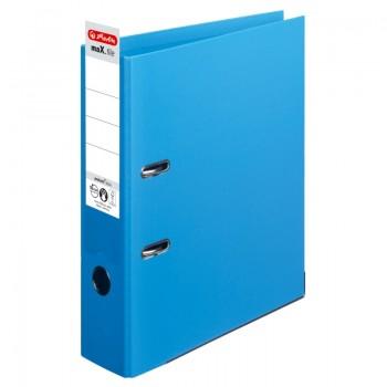 Biblioraft a4 8cm pp interior-exterior albastru deschis