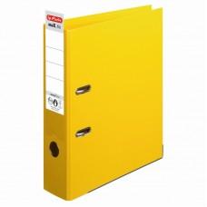 Biblioraft a4 8cm pp interior-exterior galben