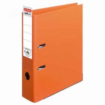 Biblioraft a4 8cm pp interior-exterior portocaliu