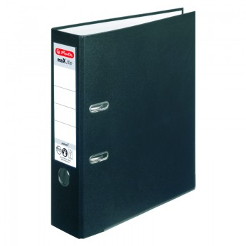 Biblioraft a4 8cm pp negru herlitz