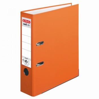 Biblioraft a4 8cm pp orange herlitz