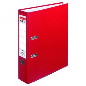 Biblioraft a4 8cm pp rosu herlitz