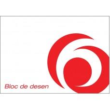 Bloc desen a4 15 file 90-100 grame