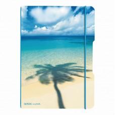Caiet my.Book flex a4 2x40f 70gr dictando+patratele palmier cu logo albastru