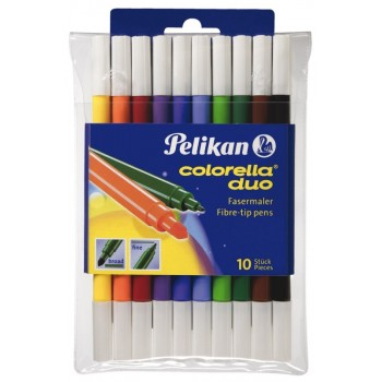 Carioca colorela duo c407 set10 blister