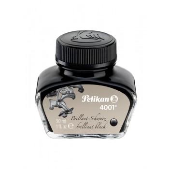 Cerneala 4001 borcan 30ml negru lucios