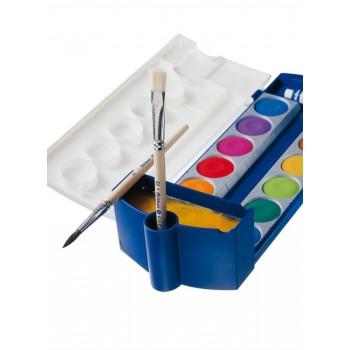 Container apa pentru acuarele 735 procolor, culoare albastra