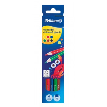 Creioane color lacuite set6 culori varf 3,0 mm