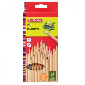 Creioane color natur 1/1 set 24