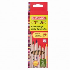 Creioane color triunghiular trilino 1/1 set 6