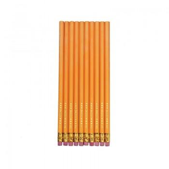 Creioane grafit cu radiera mina hb set 10