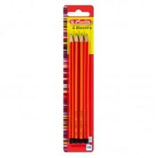 Creion grafit mina hb lacuit set4