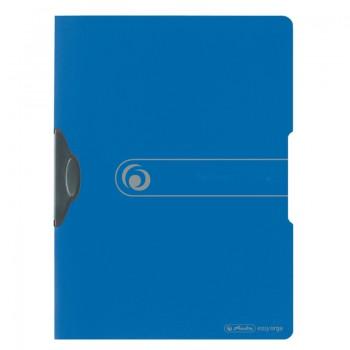 Dosar pp cu clips eotg 30 coli, albastru opac