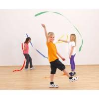 Panglici gimnastica ritmica 4 m -set 5 buc
