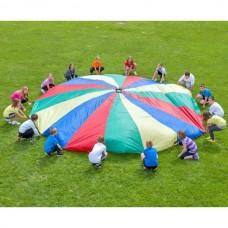 Parașută curcubeu - 3.60 m diametru