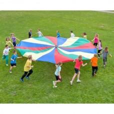 Parașută curcubeu - 6.10 m diametru