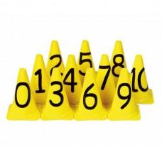 Conuri numerotate de la 0 la 10