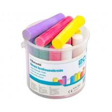 Cretă colorată desen asfalt - 20 bucăți/cutie