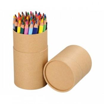 Creioane colorate triunghiulare – set 48 buc