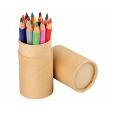 Creioane colorate triunghiulare – set 12 buc