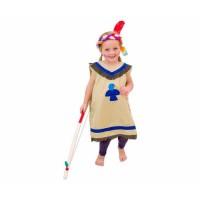 Costum indian - albastru