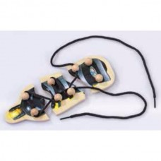 Învață să legi șireturile – puzzle din lemn