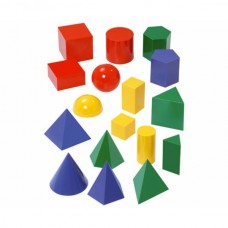 Forme geometrice – set 17 buc, 10cm