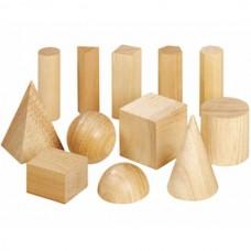 Corpuri geometrice din lemn