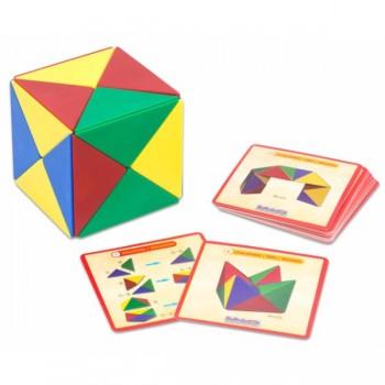 Cub magnetic - formarea corpurilor geometrice