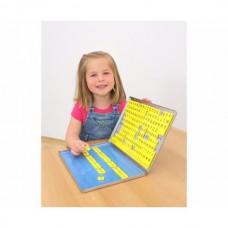 Cutie magnetica cu litere