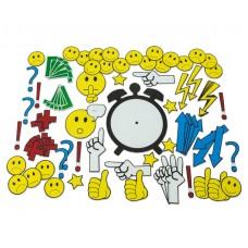 Simboluri și emoticon-uri magnetice