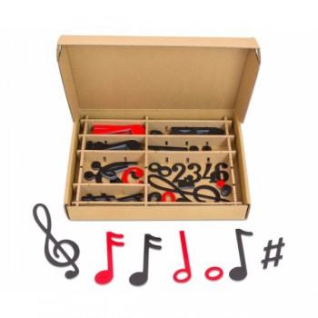 Set note muzicale magnetice