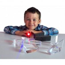 Lanterne LED pentru experimente optice