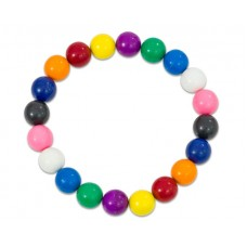 Bile magnetice multicolore 20 buc